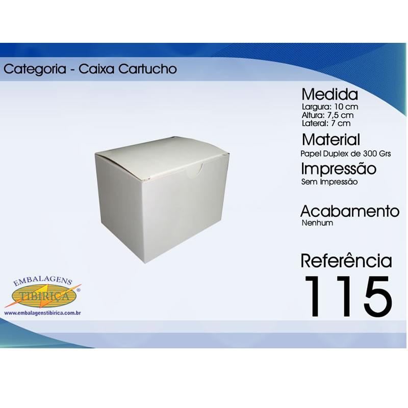 Caixa para cartucho personalizada