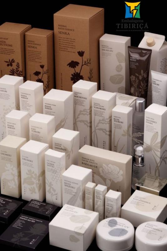 Caixa para cosméticos