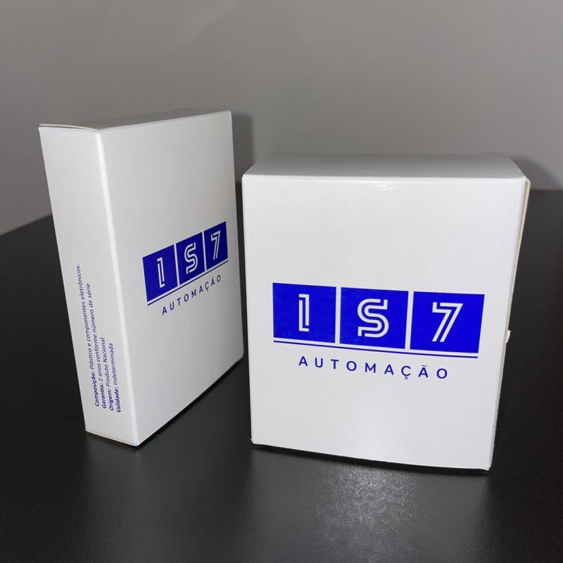 Caixa personalizada com logomarca