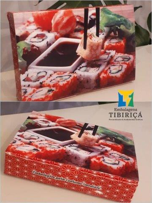 Caixa personalizada papel