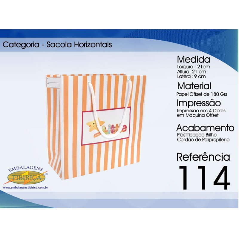 Confecção de sacolas de papel personalizadas