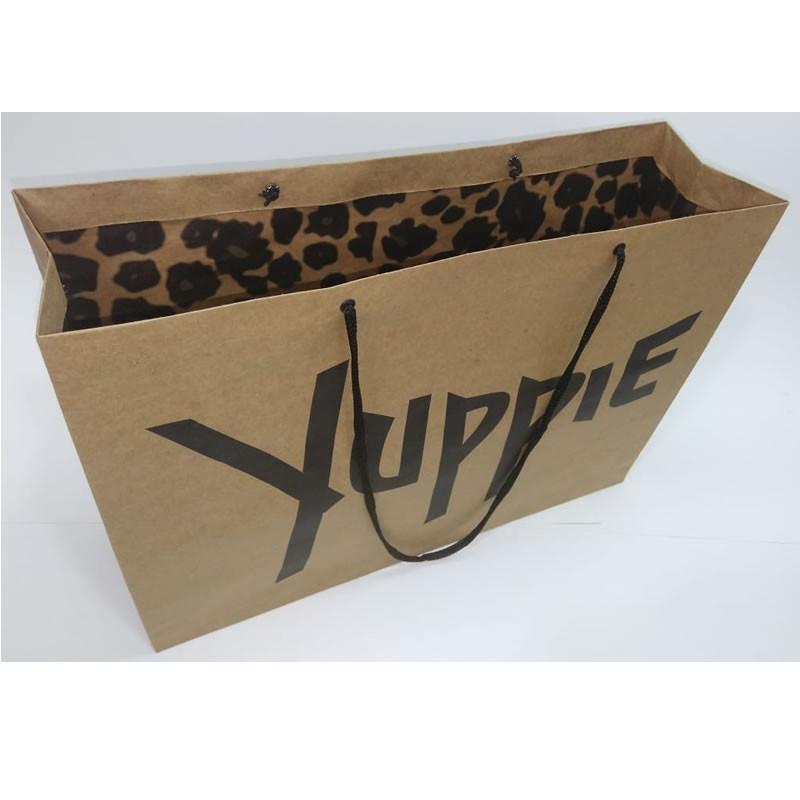 Embalagens de papel kraft personalizadas